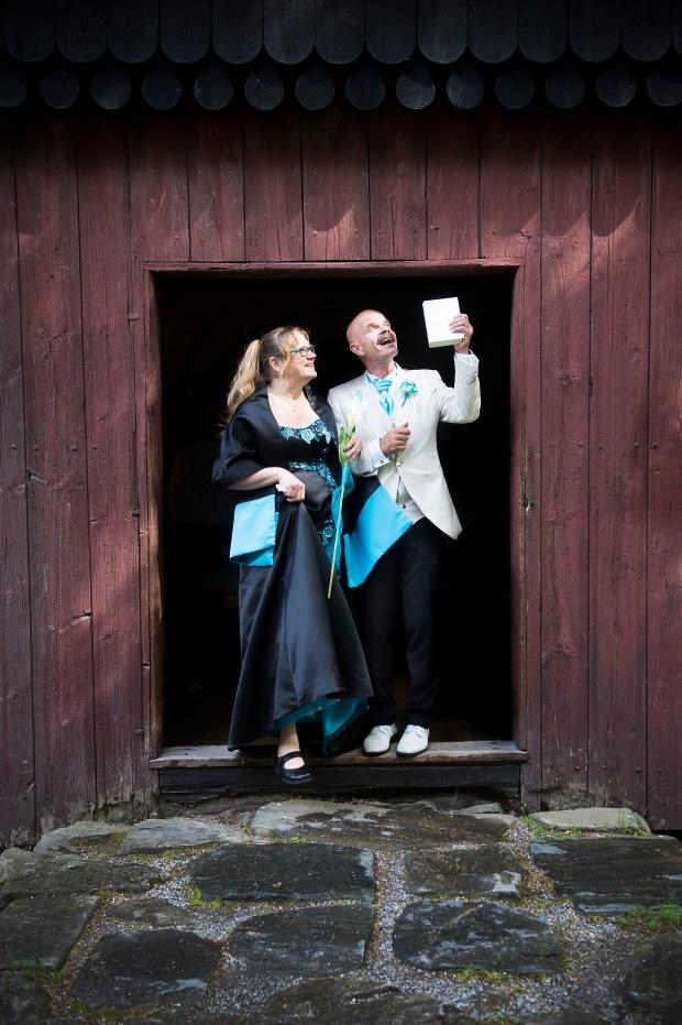Tuula ja Heikki Tanskanen Tampereella 17.7.2017. Kuva: Jenna Lehtonen